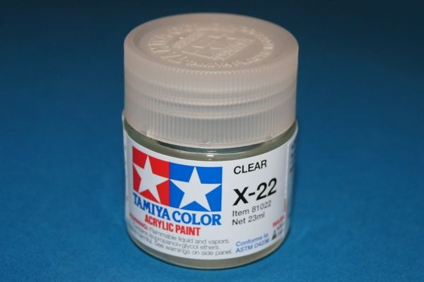 Tamiya Clear Coat Gloss For Acrylic Paints 23ml