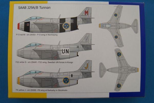 Tarangus 1//72 SAAB J-29A//B Tunnan # 72001