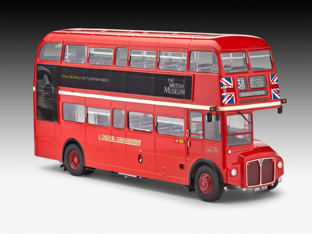 revell london bus rev 07651 rev 07651 rev07651 7651 1 24 aec routemaster hallmark of. Black Bedroom Furniture Sets. Home Design Ideas
