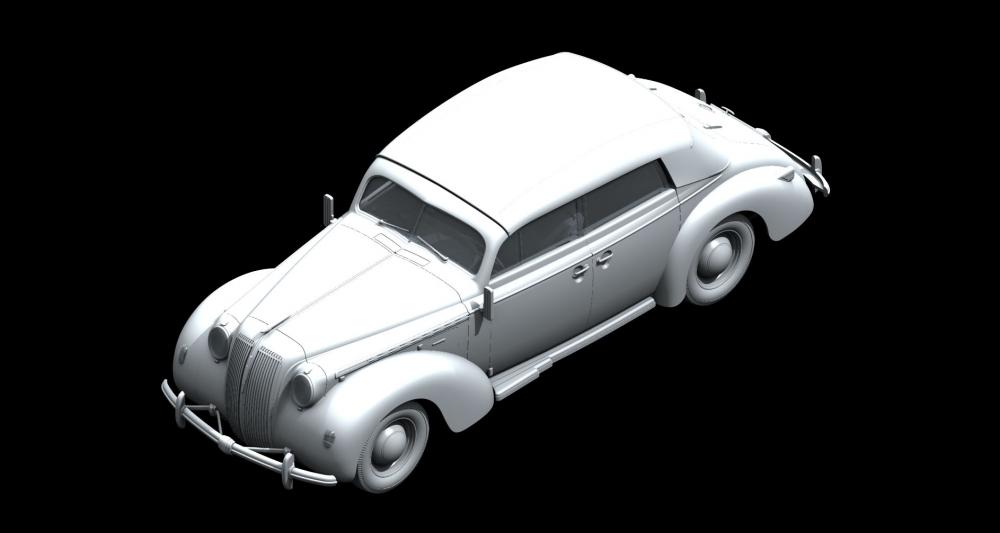 ICM 24021 1//24/Opel Admiral Cabriolet Plastique mod/èle Kit