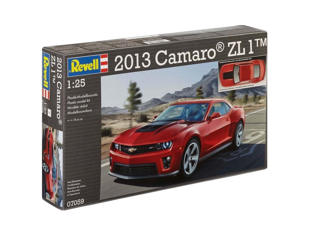 Revell Rev 07059 Rev 07059 Rev07059 7059 1 25 2013 Camaro Zl 1