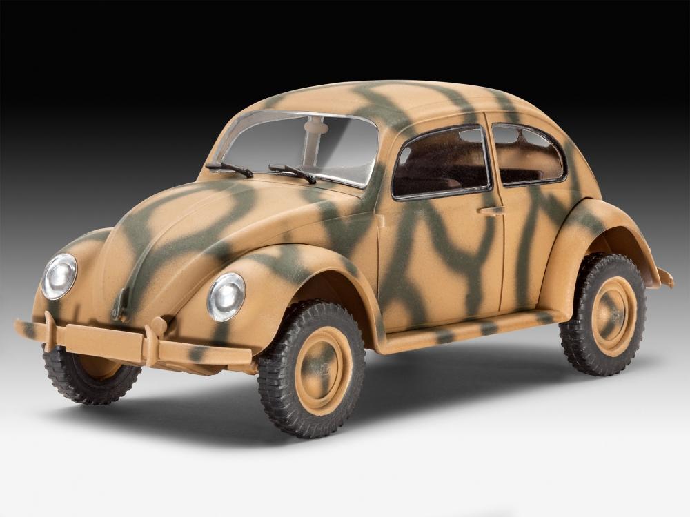 revell   german staff car type    german army utility vehicle volkswagen