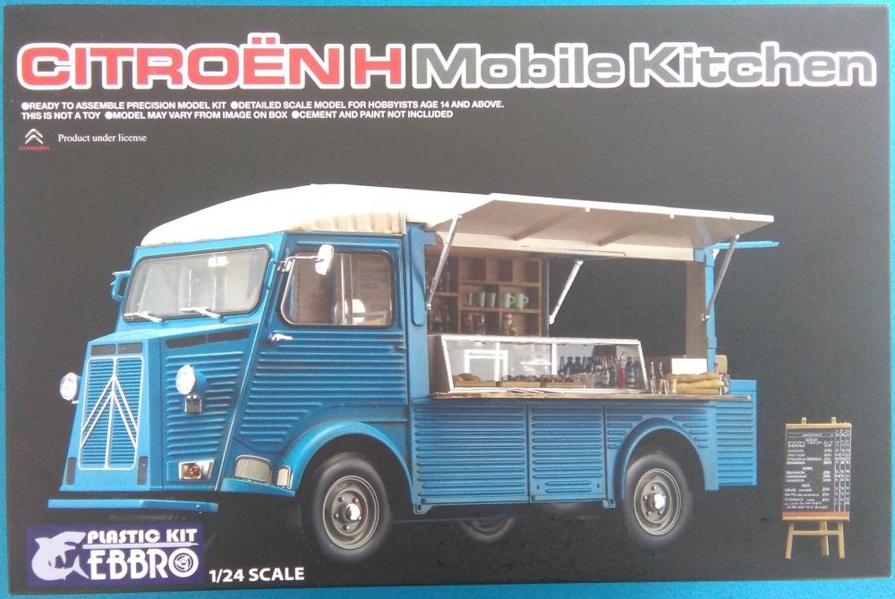 Ebbro Citro 203 N H Mobile Kitchen 1 24 Ebb25008 Ebb 25008