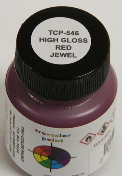 Tru Color Paint Automotive Red Jewel Gloss 30ml