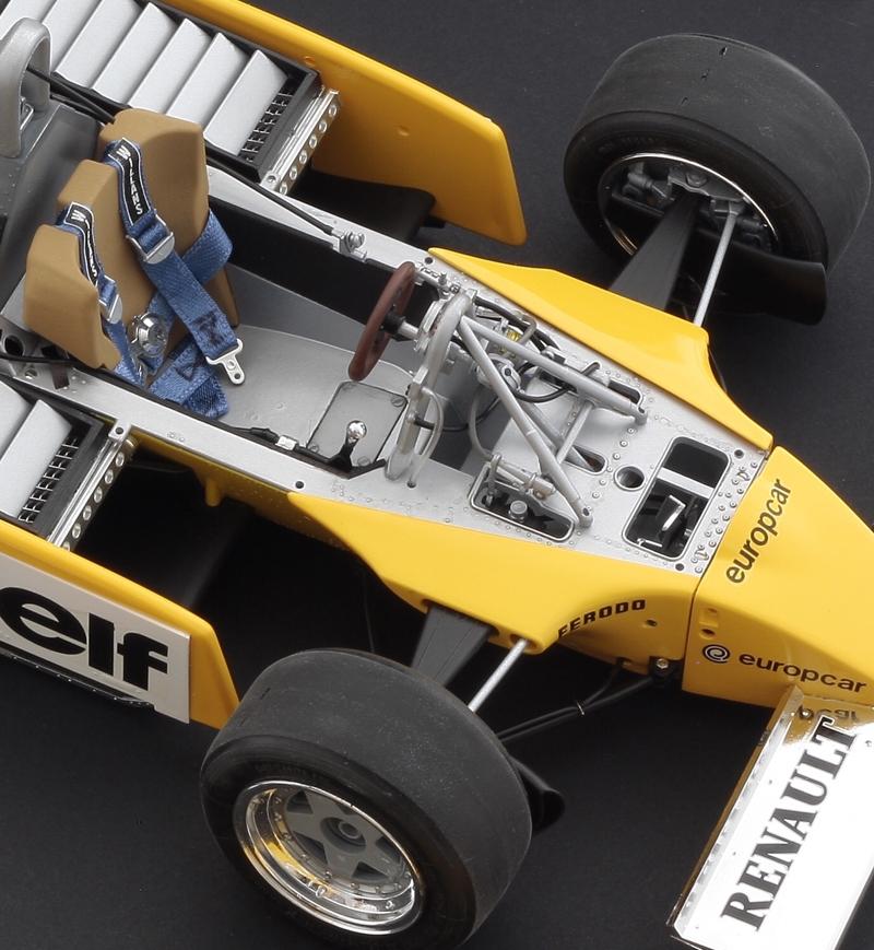 Renault Formula 1: ITALERI; RENAULT RE 20 TURBO; ITA4707; ITA-4707; ITA 4707