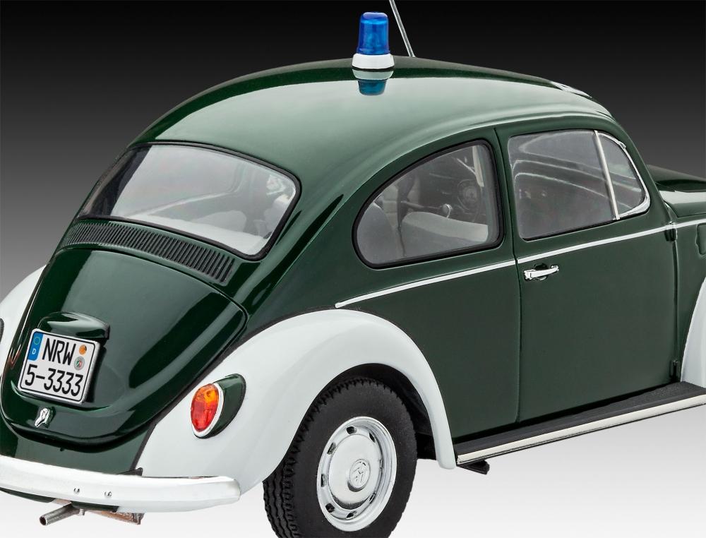 Revell 07035-1//24 Vw Beetle Police Polizei Neu