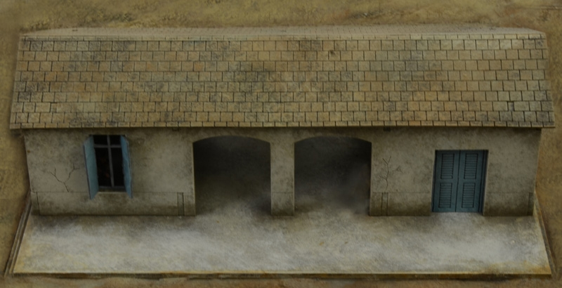 El Alamein Battle At The Railway Station Kit ITALERI 1:72 IT6181